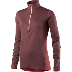 Houdini W's Phantom Zip Shirt Mulberry Red